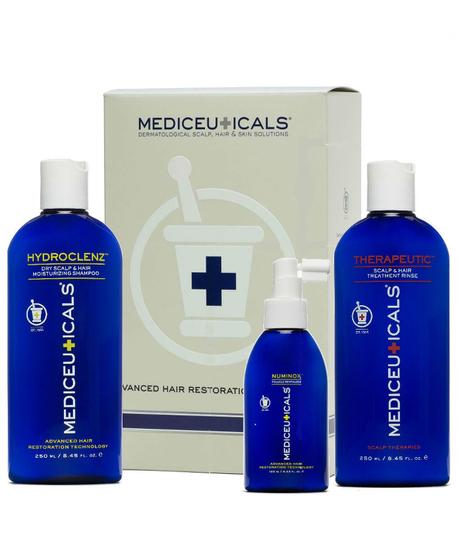 Mediceuticals for hair loss dry - zestaw przeciw wypadaniu i łysieniu, do skóry suchej (1)