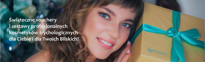 Świąteczne vouchery i zestawy profesjonalnych kosmetyków trychologicznych dla Ciebie i dla Twoich Bliskich